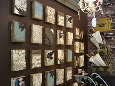 When Sid Dickens tiles arrive at Portfolio Interiors Kamloops we will all be wishing for larger walls to display our collections. www.portfoliointeriors.ca