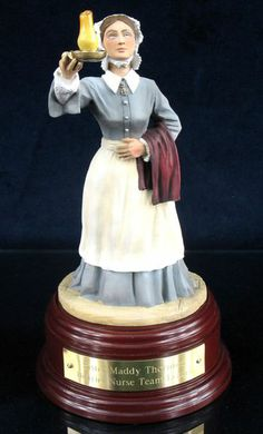 Florence Nightingale, Scutari, Crimea 1854, Painted, C327