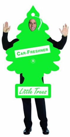 Pine-scented air-freshener! This would also be a great costume for our annual Let's Make a Deal game.