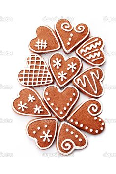 gingerbread - Bing Images Fun Cookies, No Bake Cookies, Cupcake Cookies, Christmas Gingerbread, Gingerbread Cookies, Christmas Biscuits, Biscuit Cake, Dessert Decoration, Chocolate Decorations