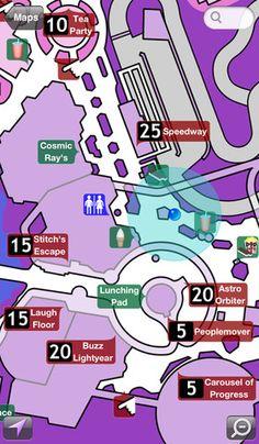 Disney World Maps Free App