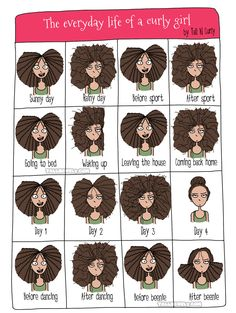 Tall N Curly - The every day life of a curly girl,  The Struggle is real