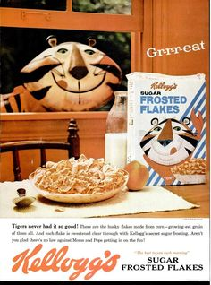 Kellogg's Frosted Flakes ad from Life - May 19, 1961
