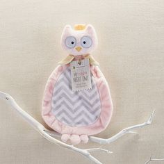 My Little Night Owl Plush Lovie