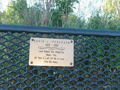 Park Bench Message