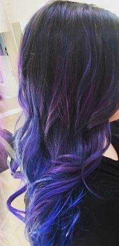 #purplehair #dyedhair #olaplex #balayage #ombre #highlights
