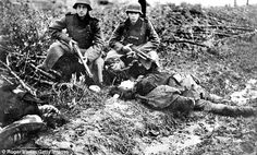 'I liked to shoot everything - women, kids. it was kind of sport': Secret Nazi tapes reveal how ordinary German soldiers were responsible for war crimes and not just SS World History, World War Ii, History Images, War Machine, Military History, Historical Photos, Wwii, German, Pictures