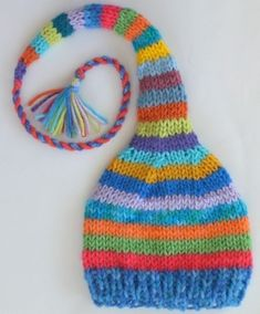 Crochet baby hats See this on Ella in her favorite colors. : Crochet baby hats See this on Ella in her favorite colors. This will be fun … – Simple craft Baby Knitting Patterns, Baby Hats Knitting, Knitting For Kids, Loom Knitting, Knitting Projects, Crochet Projects, Hand Knitting, Knitted Hats, Crochet Patterns