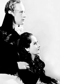 hollywoodlady:  Leslie Howard and Merle Oberon in The Scarlet Pimpernel (1934)