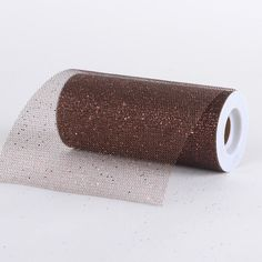 Premium Glitter Net Chocolate Brown - 6 inch x 10