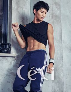 UP10TION's Kogyeol and Kuhn Feature Their Muscles in 'CeCi' Magazine | Koogle TV