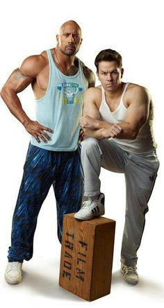 The Rock & Marky Mark!!!