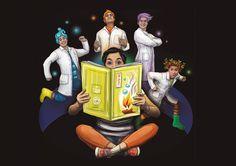 LIMA VAGA: Cortita Vaga: Lia y la Aventura Científica