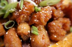 """I took these shots for Asian Restaurant News Magazine. This is Orange Chicken from """"Helen's Gourmet Chinese Food"""" in Fresno, California.    Below is a recipe for Orange Chicken that I found here. It is not the recipe used in the photograph above.  Chinese Food Recipes at http://chinesefoodrecipes.healthandfitnessjournals.com"""