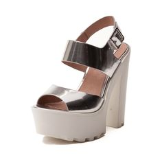 Shop for Womens Steve Madden Get It Heel in Silver at Journeys Shoes. Shop today for the hottest brands in mens shoes and womens shoes at Journeys.com.Take a walk in Iggy Azaleas shoes...literally, with the new Get It Heel from Steve Madden. Iggy Azalea and Steve Madden collaborate to bring you one Fancy collection. The Get It Heel flaunts metallic silver leather uppers with adjustable ankle strap, lightly padded footbed for comfort, and athletic-inspired lug platform with chunky heel. Heel…