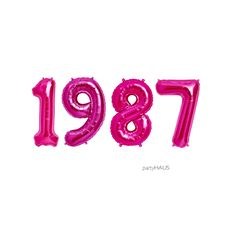 1987 balloons 16 or 34 Foil Balloons Birthday Birthday Bbq, 30th Birthday Gifts, 30th Birthday Parties, Girl Birthday, Happy Birthday, 30th Party, Sleepover Party, Its My Bday, Day Wishes