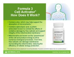 Cell Activator after every shake is a must!!! Just say NO to cancer with a healthy internal body!! www.goherbalife.com/lovenlife/en-us
