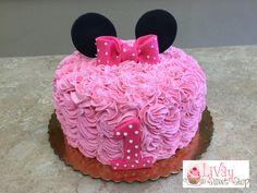 Buttercream Mini mouse cake