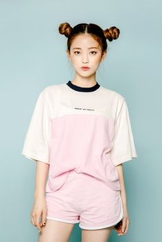 icecream12 Two-Tone Ringer T-Shirt | YESSTYLE
