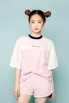 icecream12 Two-Tone Ringer T-Shirt | YESSTYLE