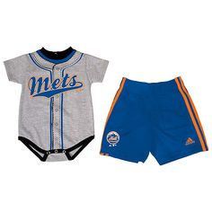 New York Mets Infant Jersey Short Set by adidas - MLB.com Shop