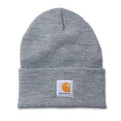 70dae832fbc Carhartt A18 Watch Hat. 100% Acrylic Rib Knit Carhartt woven label sewn on  the