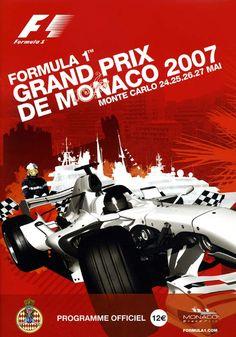 773GP - FORMULA 1 GRAND PRIX DE MONACO 2007 PROGRAMA