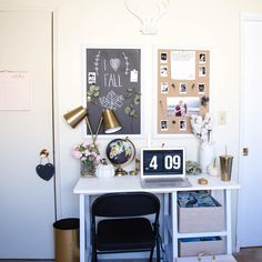 Desk office space. See this Instagram photo by @unshakablecrown
