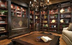 Belmont Library by Habersham Furniture