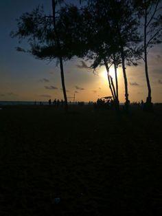 Enjoy every sunset & look forward to every sunrise.!  (kozhikode beach, kerala)