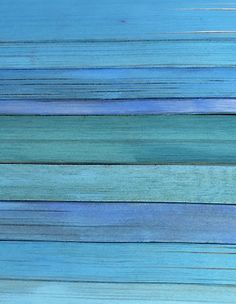 Beautiful Shades of Blue on a small beach house somewhere.