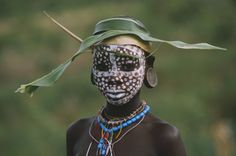 Surma & Mursi Ethiopian tribes of the Omo Valley in Sth Ethiopia. by Hans Silvester