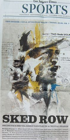 Los Angeles Times by Florian NICOLLE.