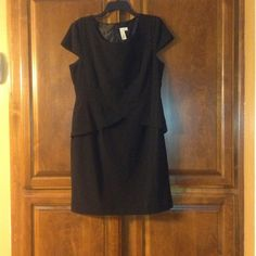 Emma & Michelle Black Dress Little Black Dress For Any Occasion . Will Look Good With Any Color . Looks Good With Matching Belt And Shoes . Worn Like 3 Times. Emma & Michelle Dresses