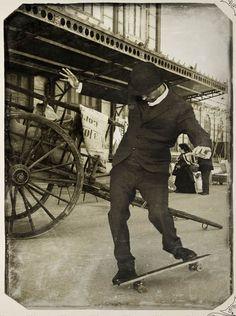 Skateboarding 1900 (revisionist).