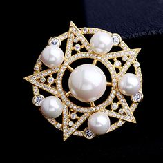 Find More Brooches Information about Old European Style Circular Framed Shell Pearls CZ Five pointed Star Brooches Silver Tone CZ Pave Victorian Five Star Broaches ,High Quality brooch supplier,China brooch findings Suppliers, Cheap brooch butterfly from Dreamland Dresses & Accessories on Aliexpress.com