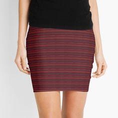 Knitted Fabric, High Waisted Skirt, Mini Skirts, Sunset, Printed, Knitting, Awesome, Fashion Design, Art