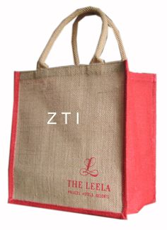 Online Jute Promotional Tote Bags Supplier to USA. Visit Our official website :- http://zesttex.com/