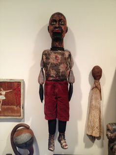 African American ventriloquist figure  by William Henry James Shaw