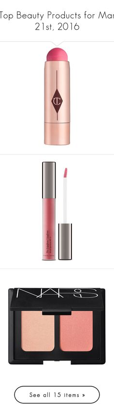 """""""Top Beauty Products for Mar 21st, 2016"""" by polyvore ❤ liked on Polyvore featuring beauty products, makeup, beauty accessories, bags & cases, bags, beauty, orange crush, make up bag, travel bag and toiletry kits"""