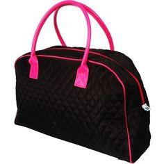 Weekender Tote - Black/Hot Pink by Threadart, http://www.amazon.com/dp/B006ML6TFQ/ref=cm_sw_r_pi_dp_dCskqb1P4DQAK