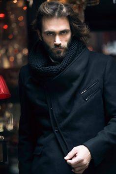 Menswear model Theo Theodoridis