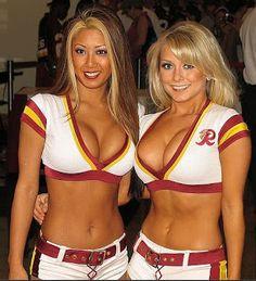 Beauty Babes: NFL Sunday Week #7 Sexy Babe Alert: Washington Redskins vs New York Giants - Who Wins?