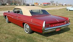1961 Pontiac Catalina Convertible Coupe