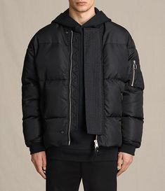 Men's Caisey Puffer Jacket (INK NAVY) - Image 1