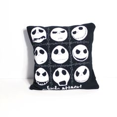 Nightmare Before Christmas Pillow