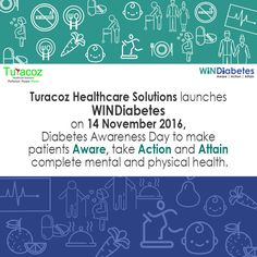 #TuracozHealthcareSolutions launches #WINDiabetes, an initiative to raise #Awareness for #DiabetesMellitus. Our services are aimed to provide healthcare solutions for #DiabetesManagement.