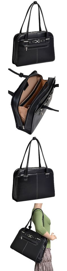 Briefcases and Laptop Bags 169293: Mcklein Usa Mayfair Ladies 15 Laptop Tote - Black Women S Business Bag New -> BUY IT NOW ONLY: $79.99 on eBay!