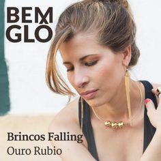 Já viram os novos brincos banhados a ouro da Bemglô? Vem com a gente! :)  #bemglo #semijoiasbemglo