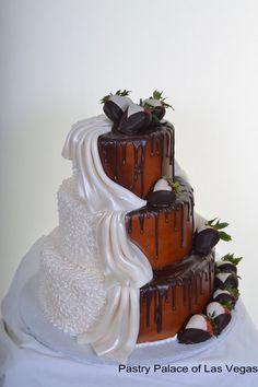 brid and groom cake | Las Vegas Wedding Cakes | Las Vegas Custom Wedding Cakes | Pastry ...